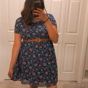 OLD NAVY floral print country style dress